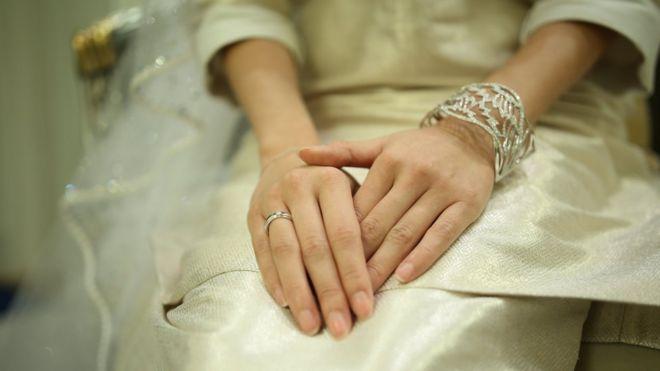 Johor princess Tunku Aminah's wedding ring