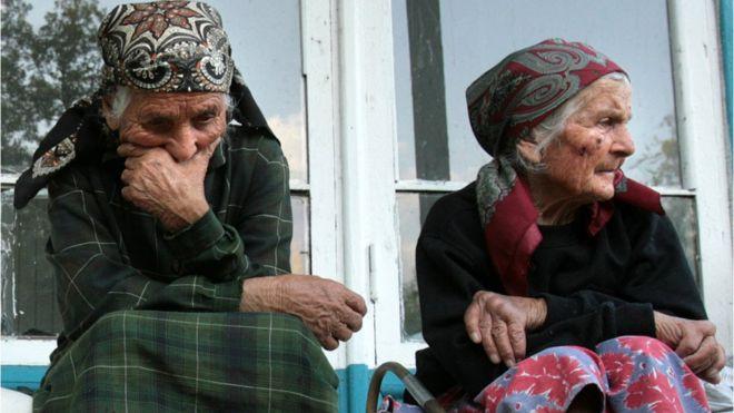 грузинские беженки