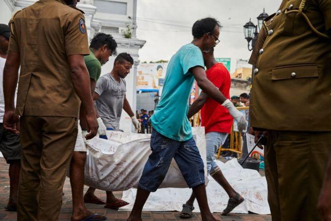 تفجيرات سريلانكا: الحكومة تقول إن شبكة دولية