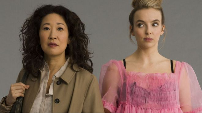 f77d308fd59 Killing Eve series two premieres in US - but UK viewers must wait ...