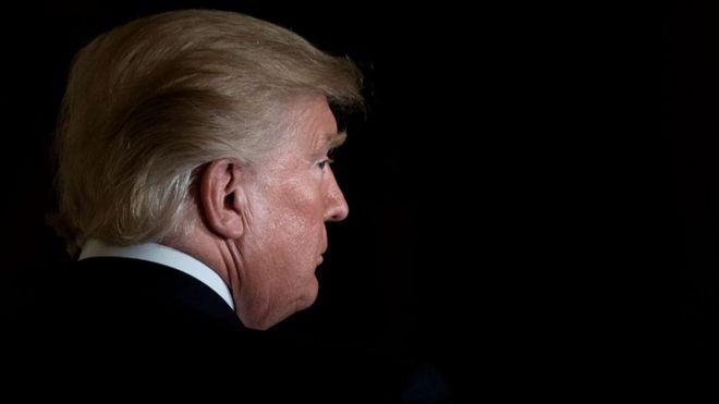 Donald Trump en la Casa Blanca - cover