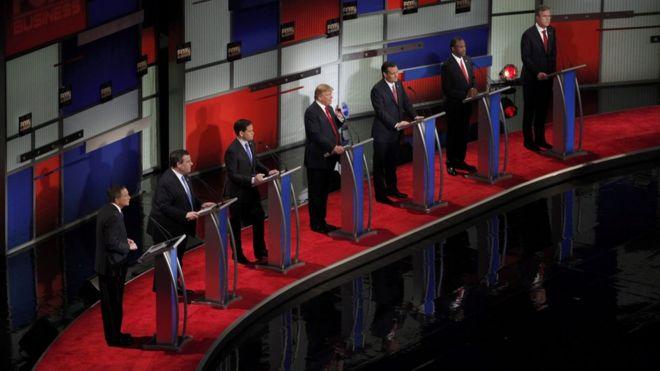 Кандидаты на сцене