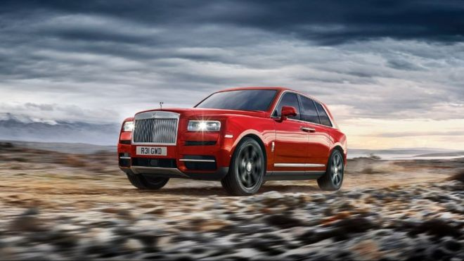 New Rolls Royce >> Rolls Royce Takes High Road With New Suv Bbc News