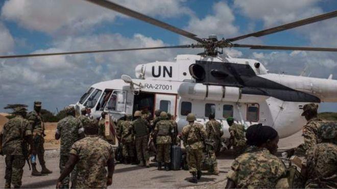 In ka badan 6,000 oo askeri ayaa Ugandha ka joogo Soomaaliya
