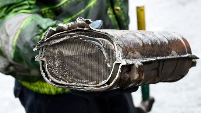 Reality Check: Thefts of catalytic converters - BBC News