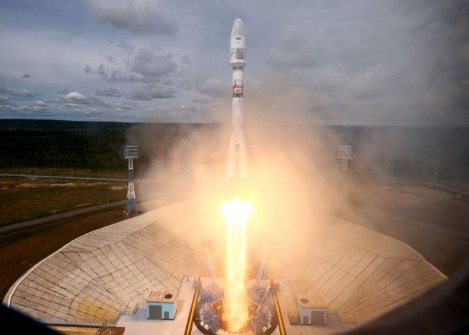 Một vụ phóng tên lửa của Nga hôm 5/7/2019
