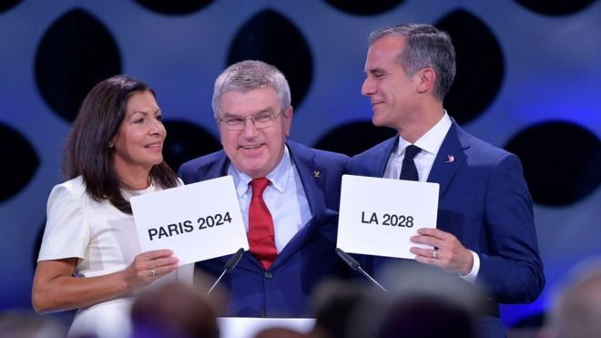 Paris 2024 Y Los Angeles 2028 Son Confirmadas Como Sedes De Los