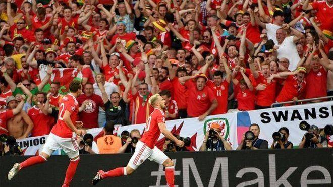 Cymru v Rwsia
