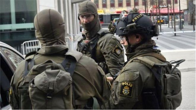 Cảnh sát Thụy Điển