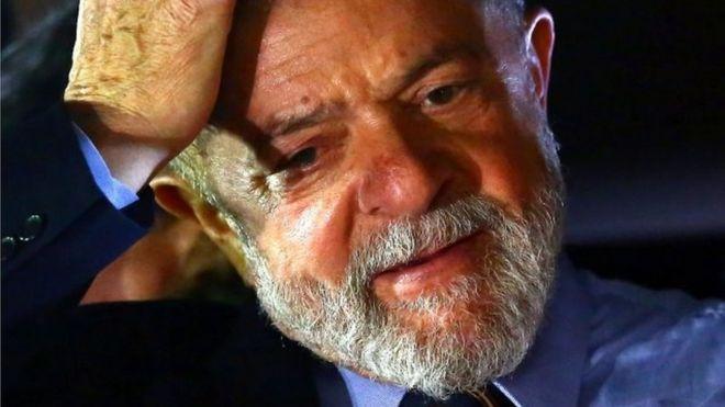 Foto de arquivo de Lula de setembro de 2017