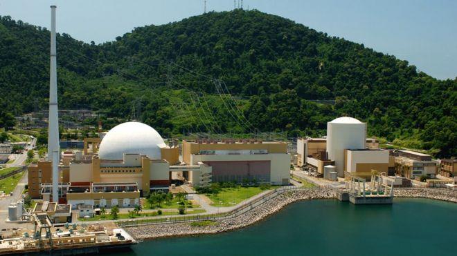 Resultado de imagem para Foto: usina nuclear em Angra dos Reis