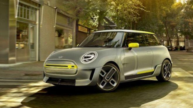 mini electric 2019 concept car