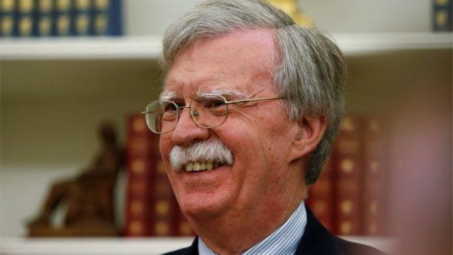 美國國家安全顧問約翰·博爾頓