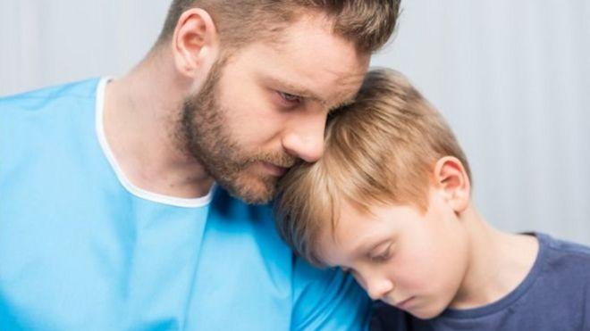 افسردگی پدران بر کودکان تاثیر دارد