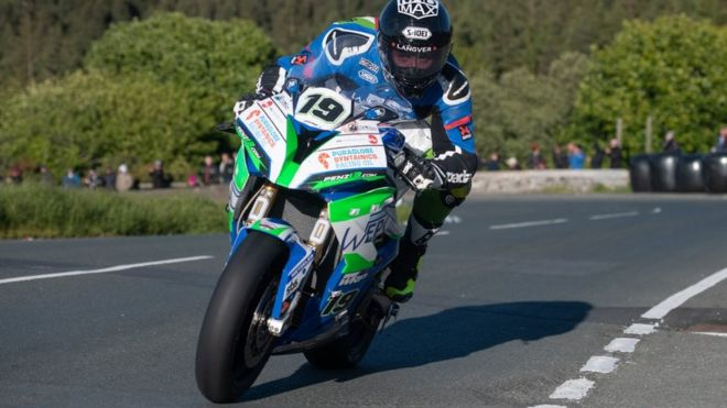 Isle of Man TT: Daley Mathison dies in opening race crash
