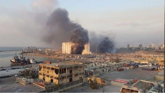 Beirut blast: Explosion rocks city injuring many - BBC News