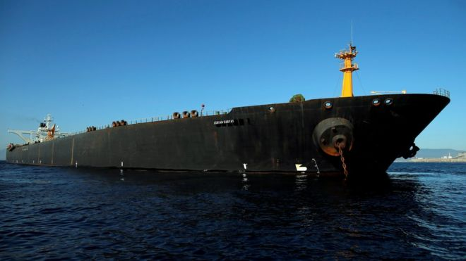 Iranian tanker row: Oil 'sold' in defiance of US threats