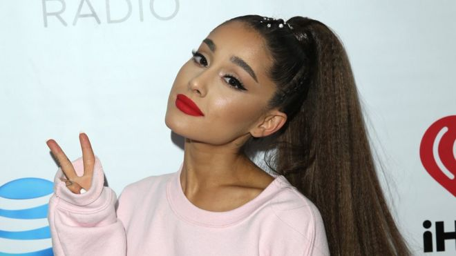 ariana grande says she has ptsd after manchester attack bbc news