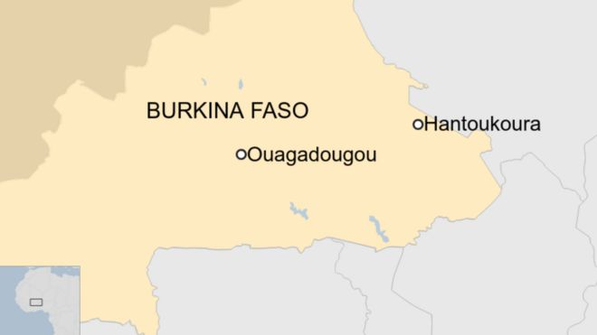 At least 14 dead in Burkina Faso church attack