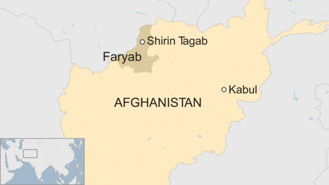 Afghan children killed in police station bomb blast - BBC News