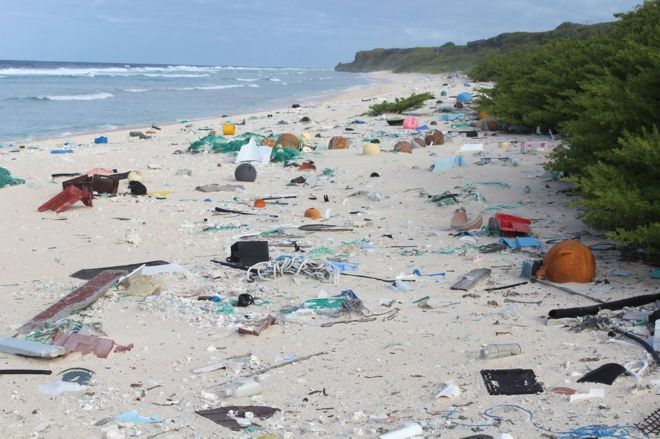 Density Of Plastic >> Remote Island Has World S Worst Plastic Rubbish Density Bbc News