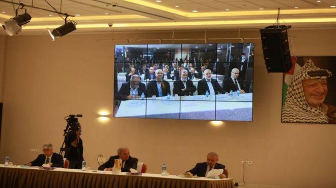 اجتماع الفصائل الفلسطينية سبتمبر/أيلول 2020