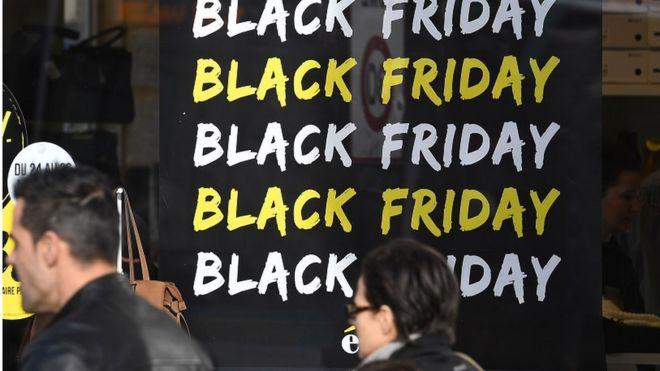 Black Friday sales advert