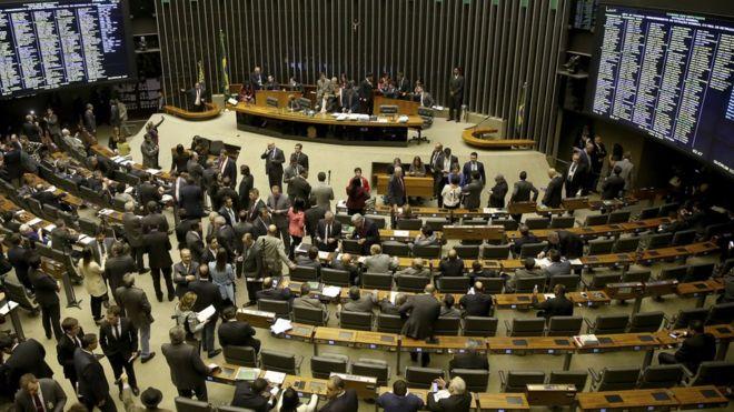 Sessão da Câmara em junho de 2017