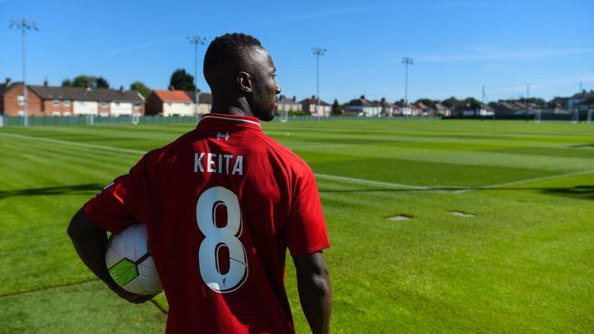 Maillot THIRD Liverpool Naby Keita