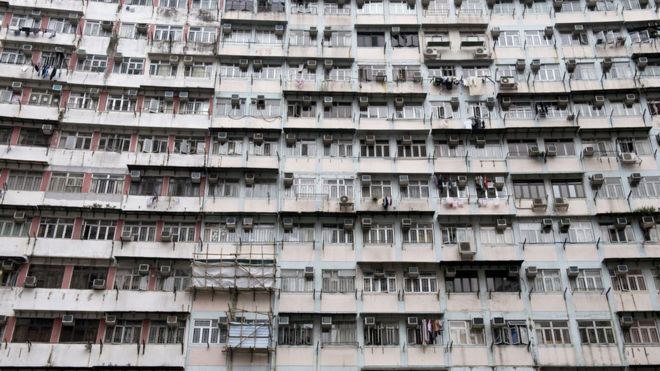 Apartment block in Hong Kong