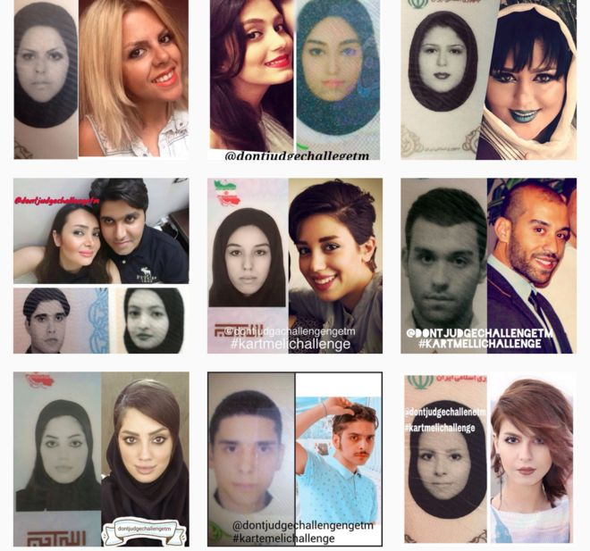Challenge' Really Are They 'id Iranians Who The News - Card Asks Bbc