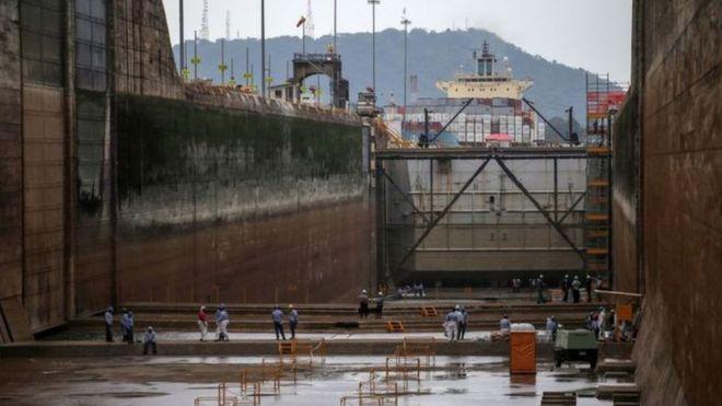 Quase 6% do comércio mundial trafegam pelo canal do Panamá