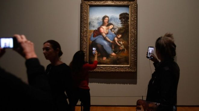 Mostra de Da Vinci no Louvre