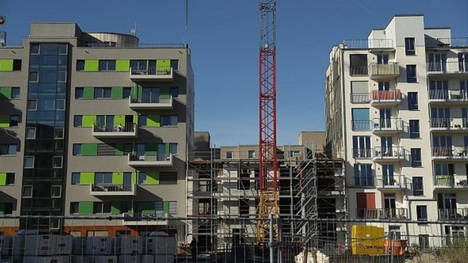 Berlin construction site