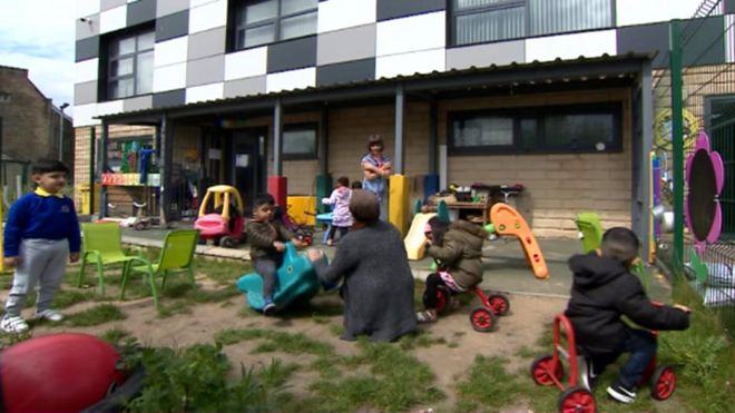 Nurseries in deprived areas 'face closure over funding gap