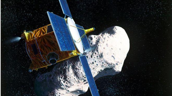 Вероятность попадания метеорита в луну
