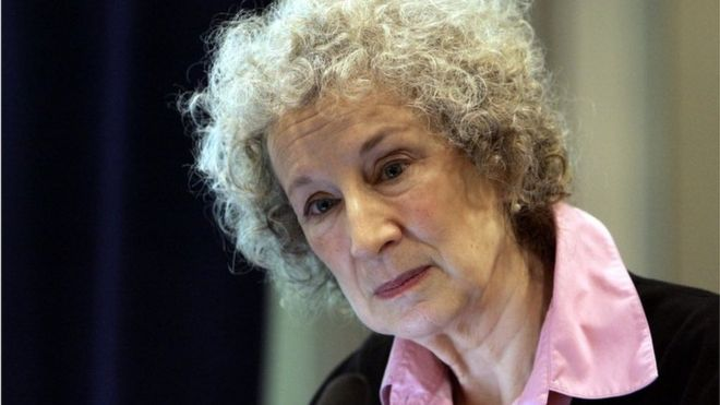 Canadian author Margaret Atwood