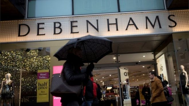 9a91af5fd5d5f Debenhams: Three things that went wrong - BBC News