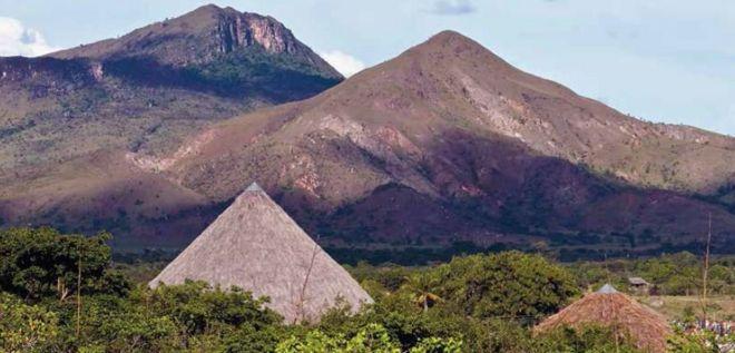 Terra Indígena Raposa Serra do Sol, em Roraima