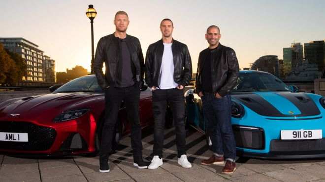 top gear mcguinness and flintoff announced as new hosts bbc news