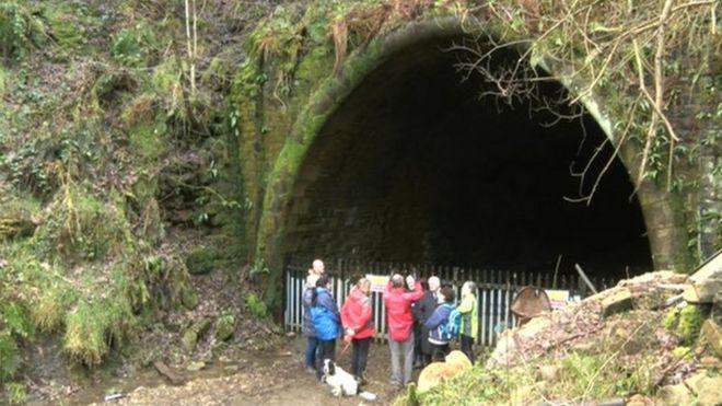 Туннельный вход в Квинсбери