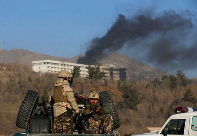 Kabil'de otele saldırı: 14'ü yabancı en az 19 ölü