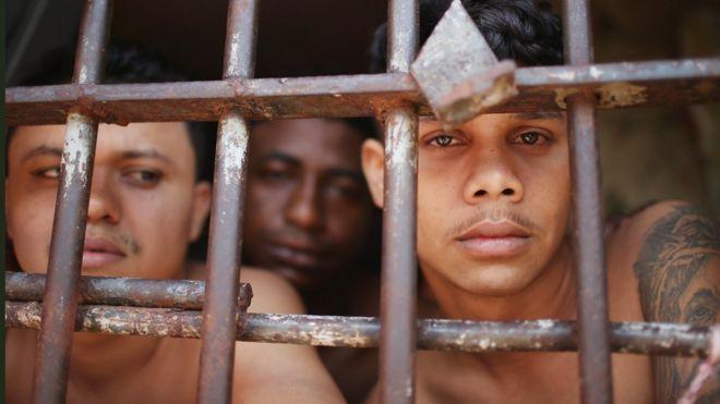 Prisioneros en Brasil