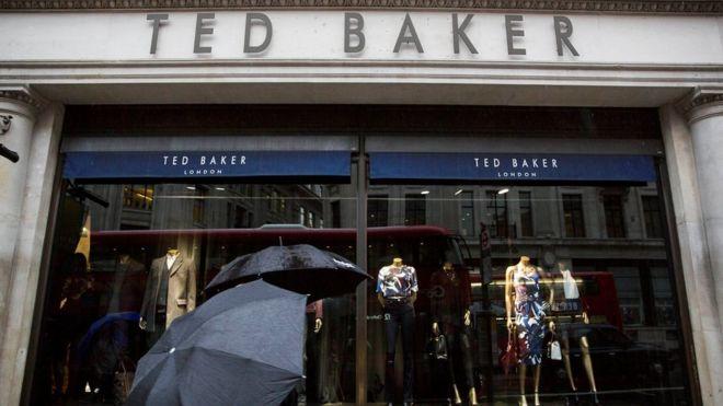 5ba9a2d01b898 Ted Baker reveals details of hugging probe - BBC News