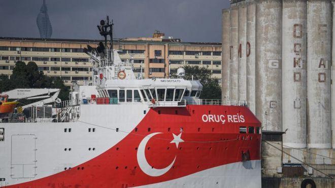 Türkiye ve Yunanistan arasında Oruç Reis gemisi nedeniyle kıt sahanlığı gerilimi