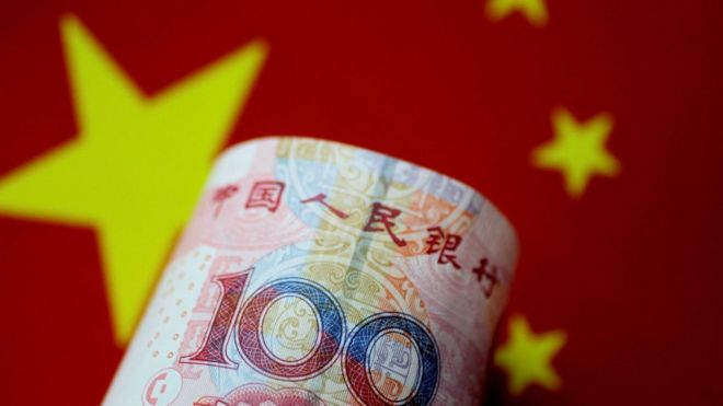 Chinese 100 Yuan Note