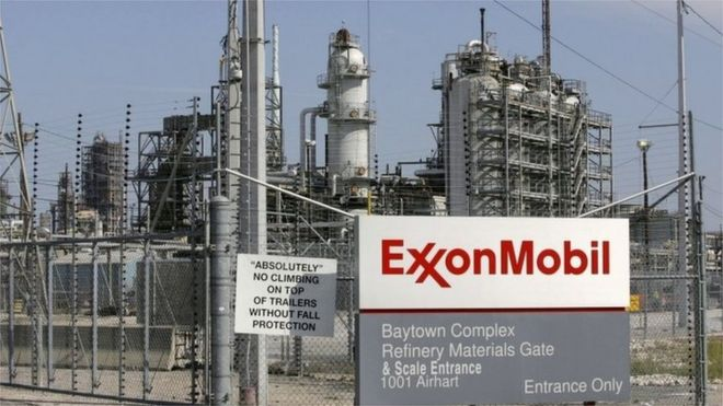 Exxon shareholders take 'small step forward' on climate - BBC News