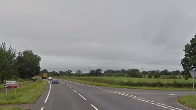 Woman Killed In Two Car Crash Near Carlisle Bbc News
