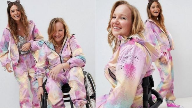 b2b1a66acb2 Asos praised for disabled-friendly clothes - BBC News