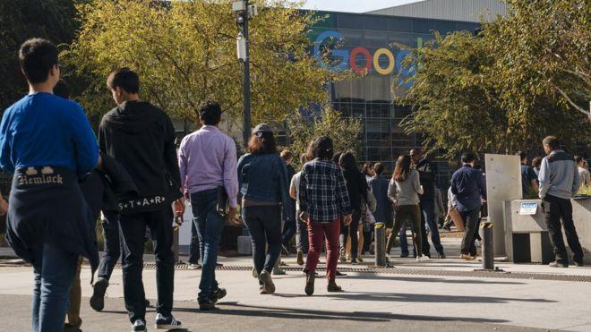 加州Google员工因处理不当行为索赔而于2018年11月辞职